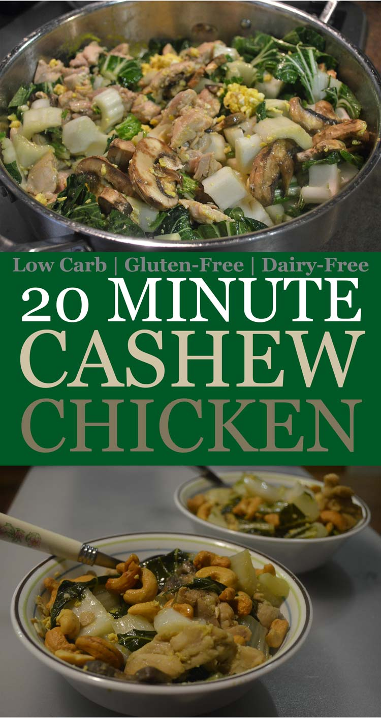 cashew chicken low carb gluten free grain free dairy free