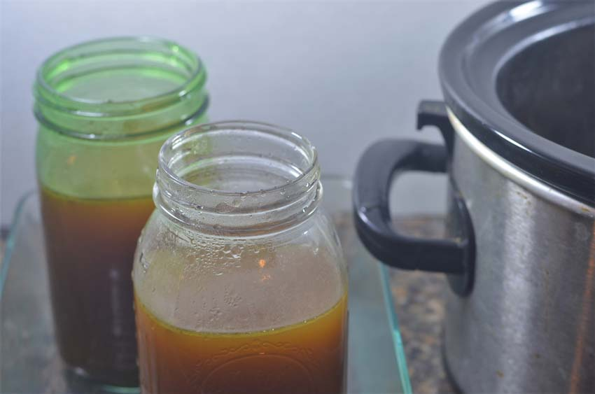 chicken bone broth homemade recipe