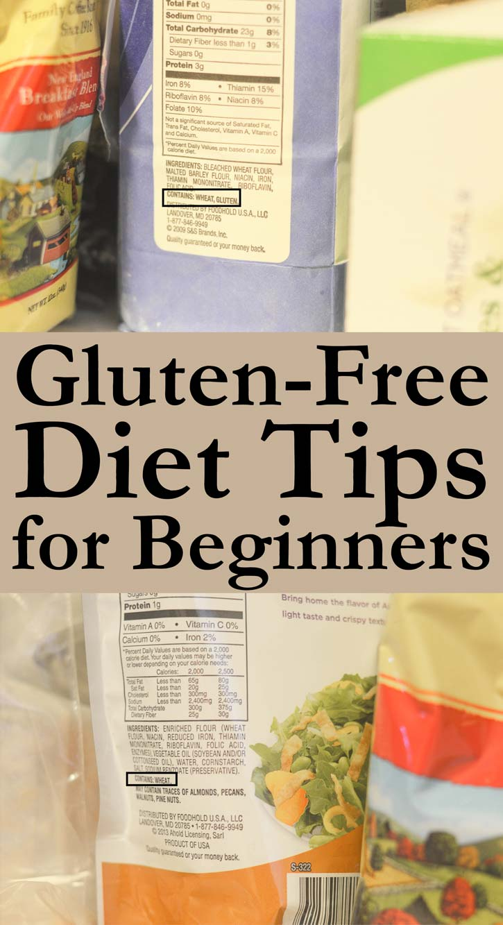 gluten-free diet tips and tricks for beginners