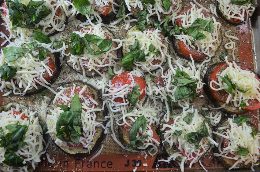 eggplant pizzas healthy gluten free grain free vegetarian low carb