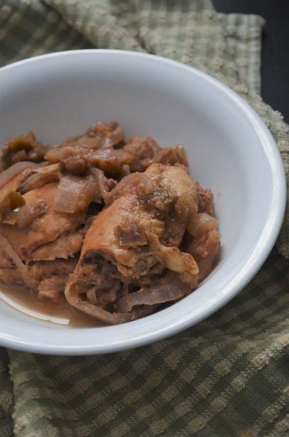 apple cinnamon carmelized onion crockpot gluten free grain free sugar free