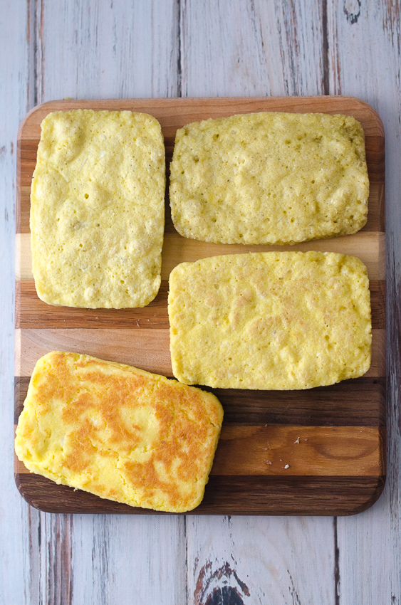 This keto microwave sandwich bread is great for whenever that sandwich urge strikes. Ready in just two minute, this bread is perfect for any type of sandwich you can imagine. Gluten-free, grain-free, Paleo, ketogenic and low-carb. Made with just six simple ingredients!