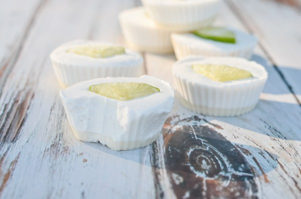 Looking for a delicious quick and easy dessert recipe? These no-bake mini coconut lime pies are SO perfect! Gluten-free, grain-free, dairy-free, low-carb, sugar-free, Paleo.