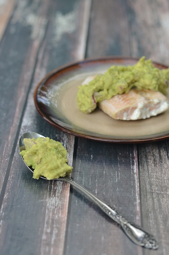 If you're looking for a nutritious, omega-3 filled dinner, then this pan-seared salmon with an avocado salsa is perfect! Gluten-free, grain-free, Paleo, Whole30, low-carb, ketogenic.