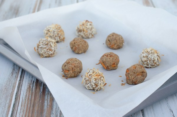 Spring is in full swing! These carrot cake bites are the perfect spring treat! Perfect for Easter or any spring get-together. Paleo, low-carb, keto, dairy-free, sugar-free.