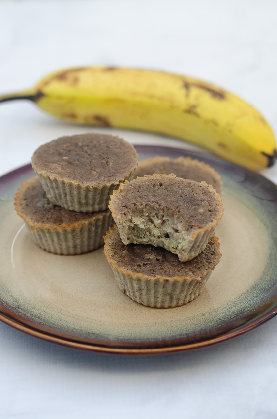 These banana bread muffins are an incredibly simple and tasty breakfast recipe. Great for busy mornings. Paleo, gluten-free, grain-free, dairy-free.