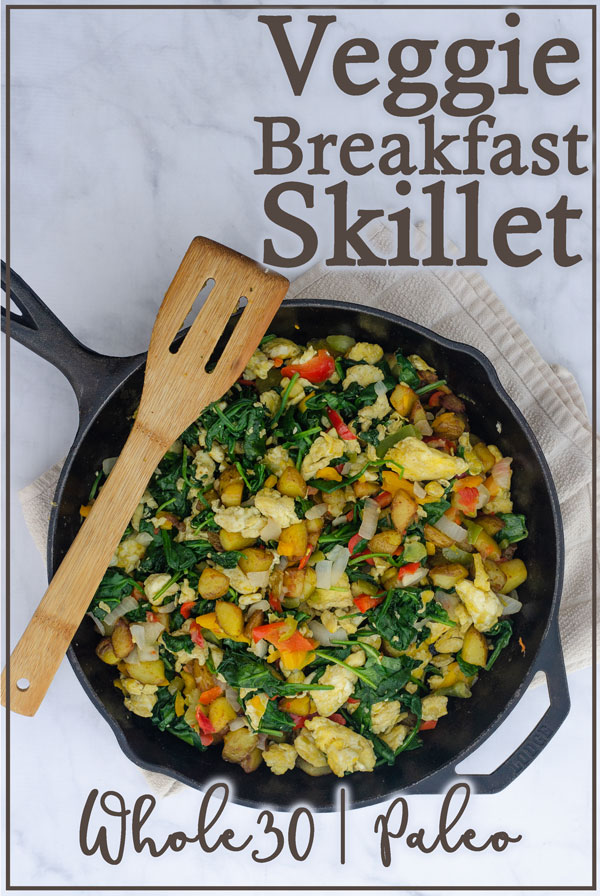 A basic, but super-delicious veggie breakfast, perfect for any crowd! Paleo, Whole30, vegetarian, gluten-free, grain-free, dairy-free.