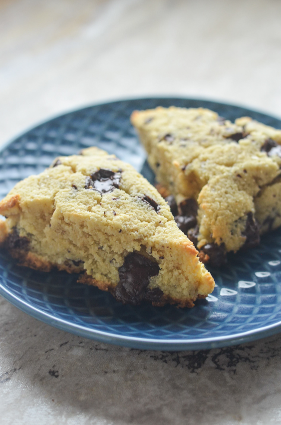 Do you love scones as much as I do? Then you will devour these chocolate chip scones, they are divine! Keto, Paleo, gluten-free, grain-free, dairy-free, sugar-free.