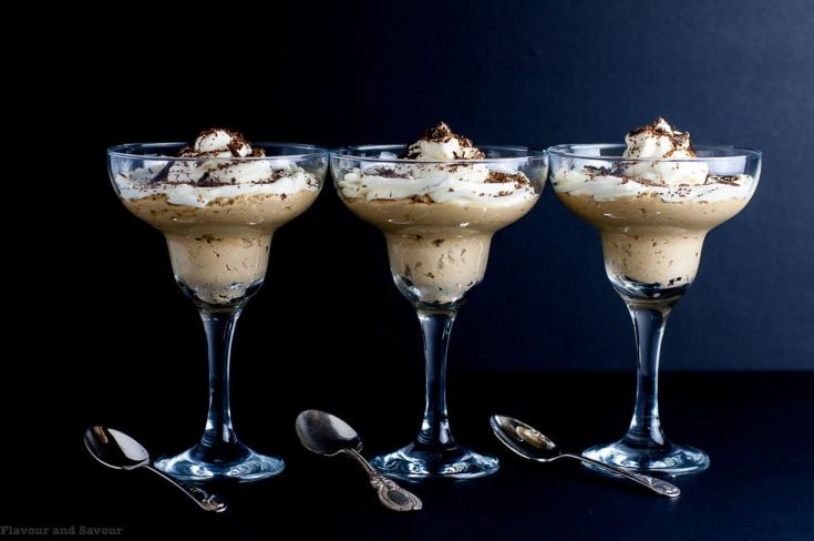 Creamy Ricotta Coffee Mousse - Keto