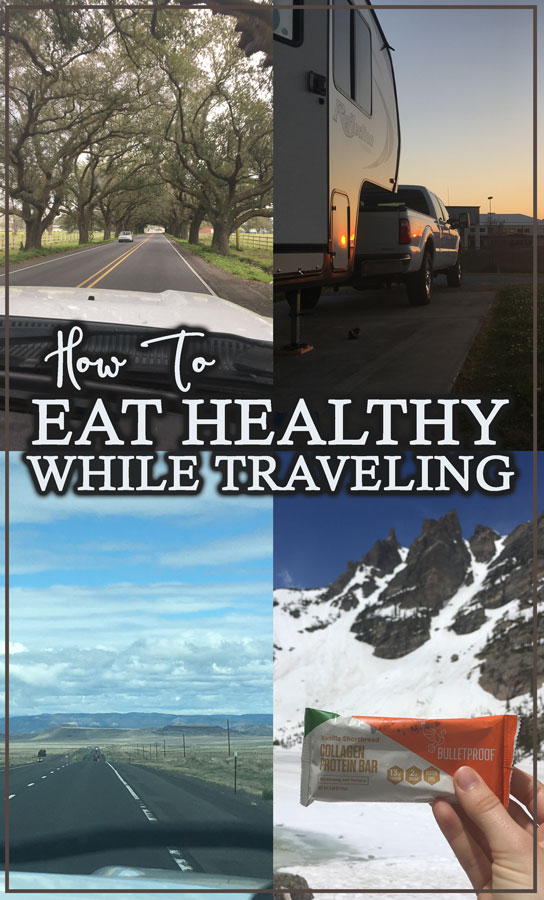 Do you travel a lot? Does your diet take the back seat when you do? Here are some tips and tricks for how to eat healthy while traveling!