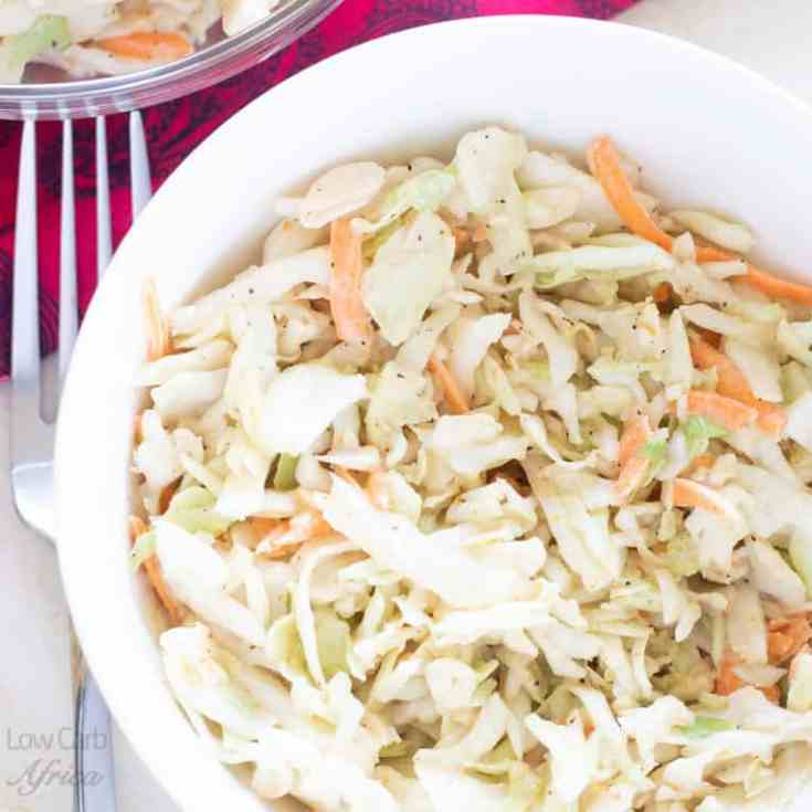 Low Carb Coleslaw (Spicy)