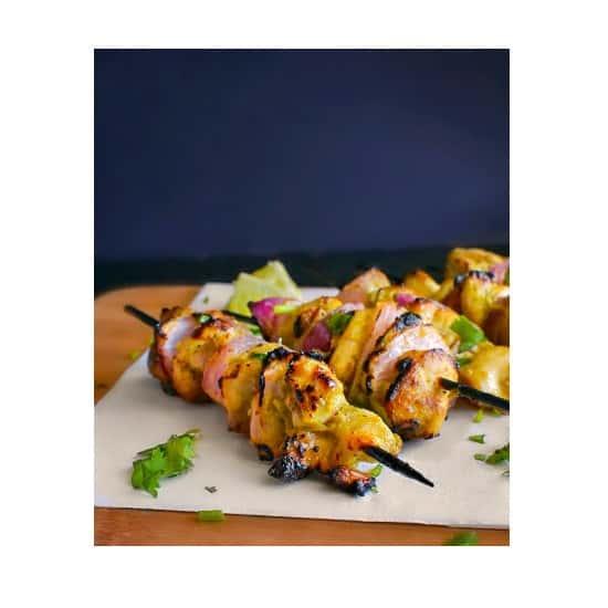 Murg Malai Tikka Recipe (Indian Chicken Skewers) #ketochicken