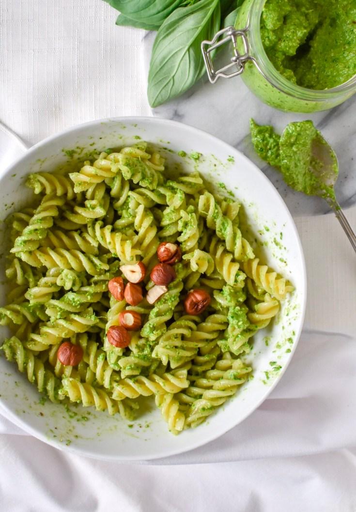 Creamy Vegan Pesto Pasta Recipe