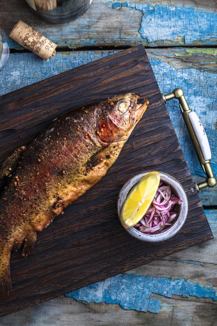 How To Smoke Whole Trout on The Traeger Grill