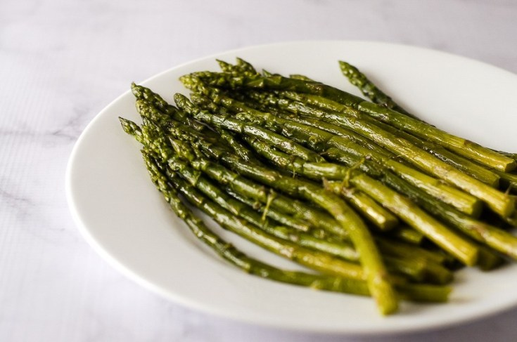 Super-Tender Buttered Asparagus (Low-Carb)