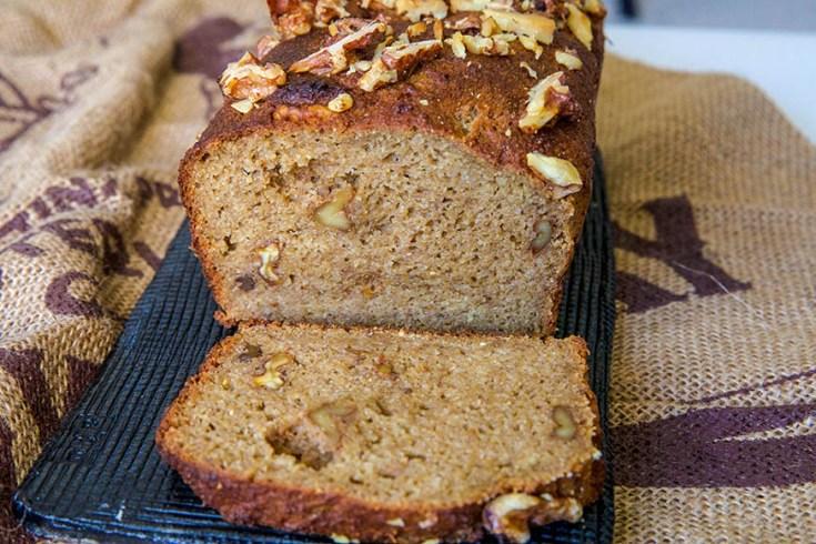 Keto Banana Bread | Sugar free recipe