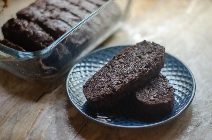 Healthy Keto Brownie Bread