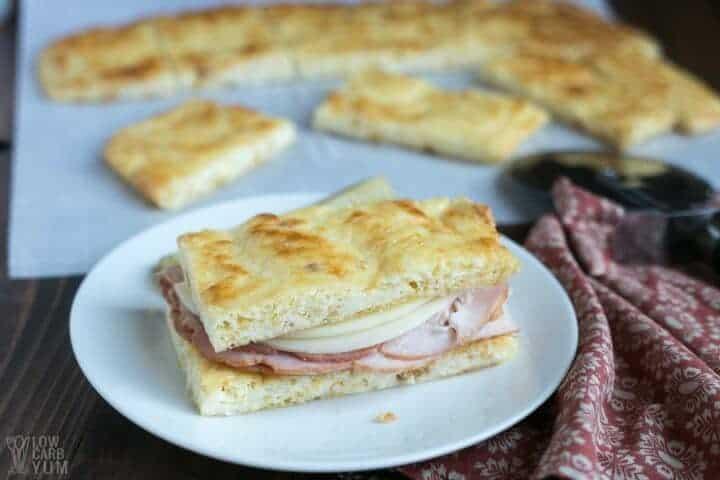 Keto Bread - Pork Rind Nearly No Carb Bread