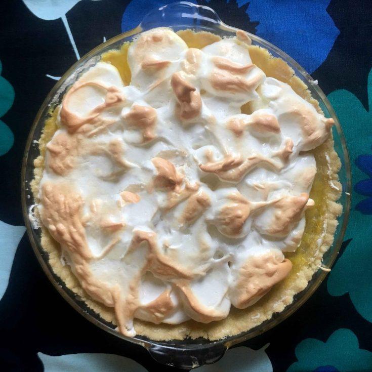 Low Carb Keto Lemon Meringue Pie