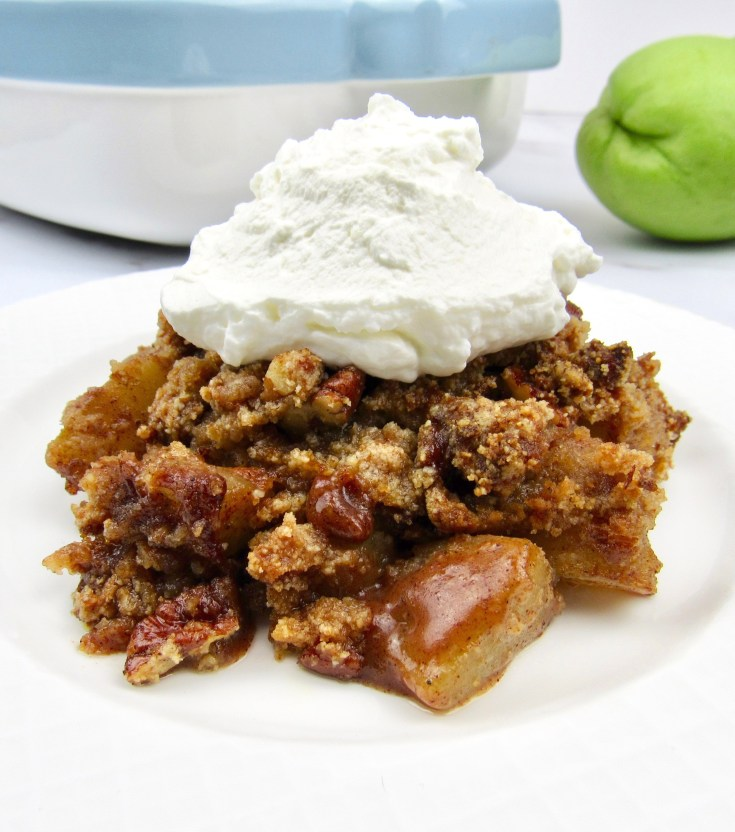 Keto Mock Apple Crumble - Low Carb/Gluten-Free