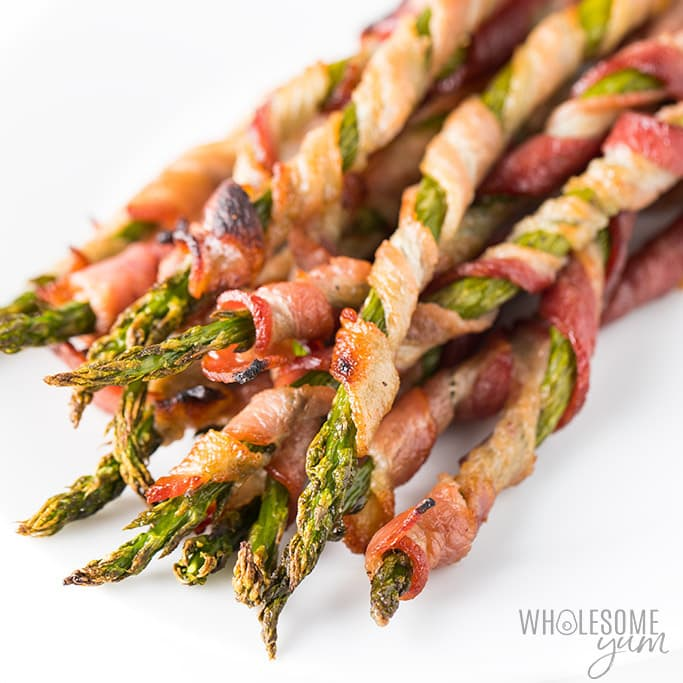 Bacon Wrapped Asparagus Recipe in the Oven (VIDEO)