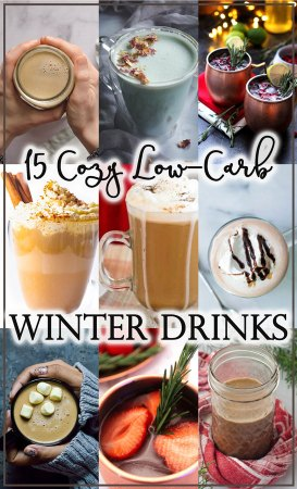 Looking for some drinks to keep you warm as the weather gets colder? These low-carb drinks for winter are a great way to get cozy!