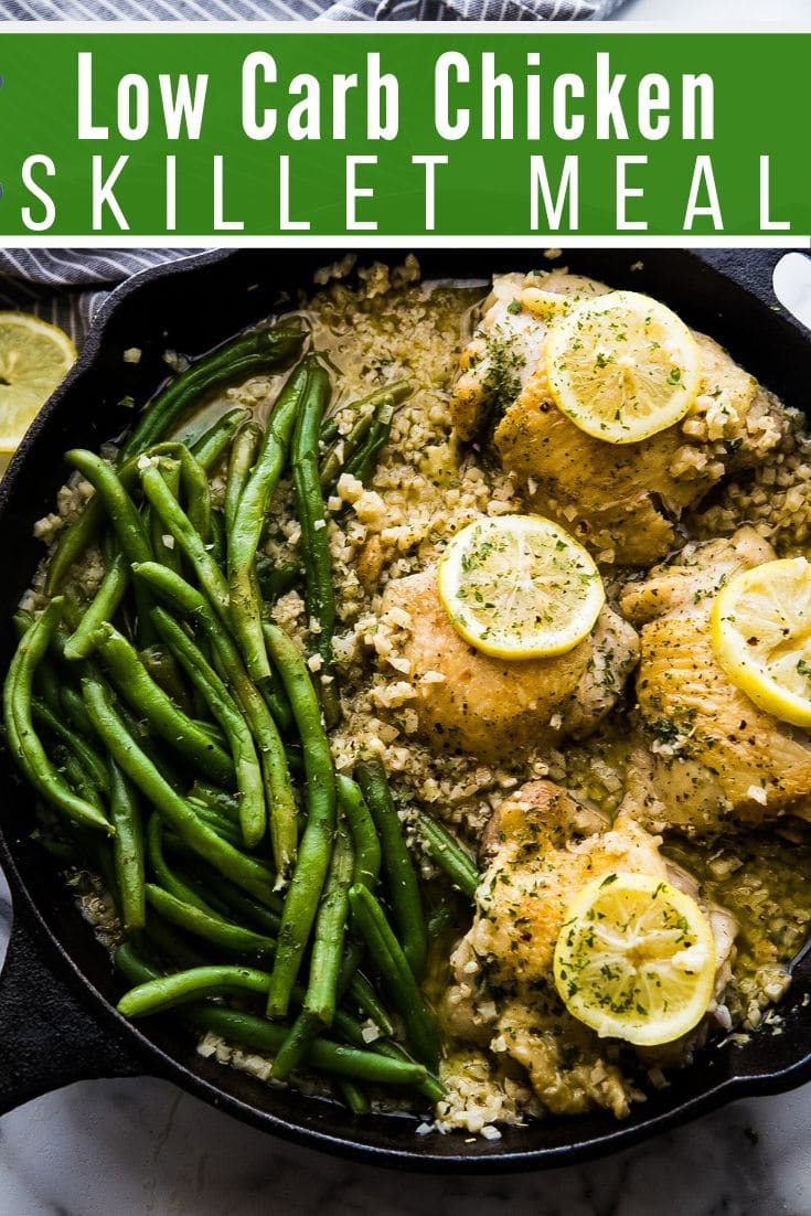 Low Carb Chicken Skillet Recipe (Easy One Pan Meal)