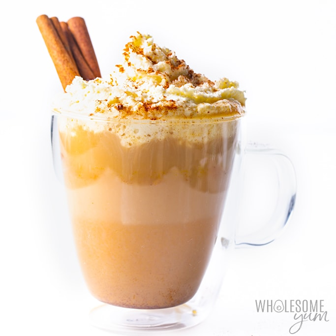 Healthy Keto Pumpkin Spice Latte Recipe (VIDEO)