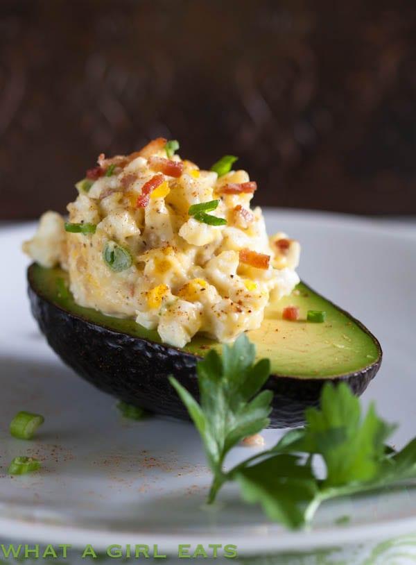 Egg Salad With Bacon {Keto, Paleo and Whole30}