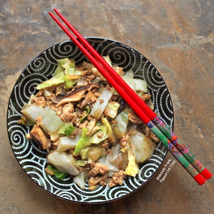 Inside-Out Pork Egg Roll Bowls