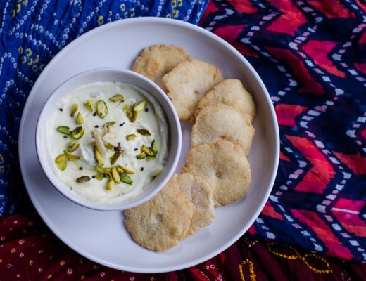 Shrikhand and Puri
