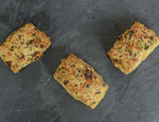 Bacon, Cheddar, Spring Onion Scones