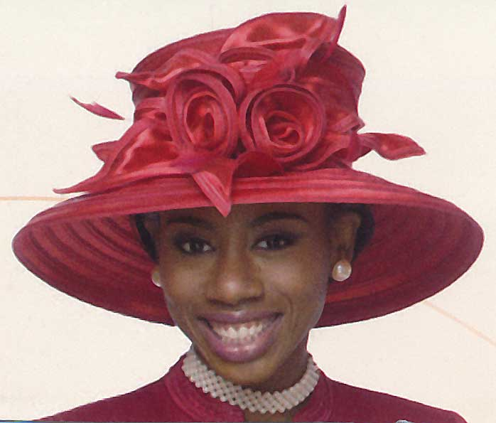 ladies kentucky derby and church hat