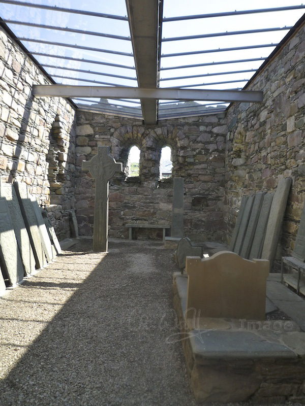 Kilmory Knap Chapel - interior