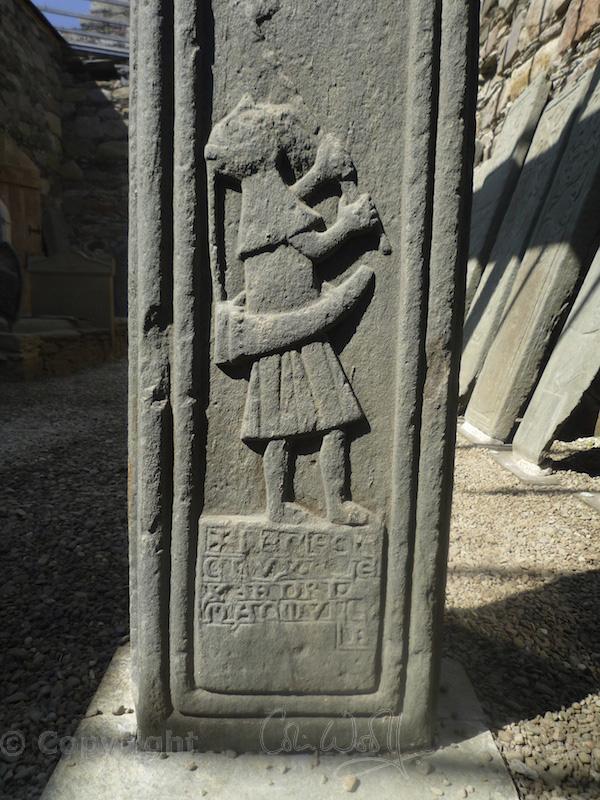 Kilmory Knap - reverse of MacMillan's Cross