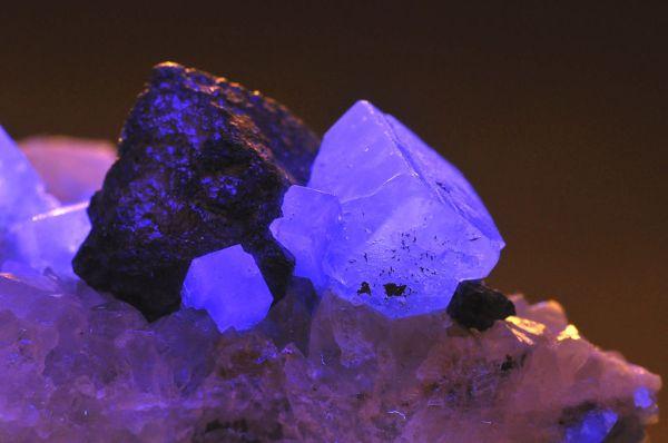 Fluorite fluorescing!  Credit P Gery via Wikimedia