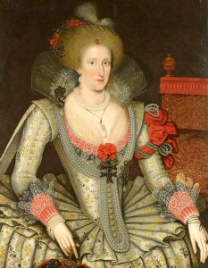 Anne of Denmark, attributed to Marcus Gheeraerts the Younger
