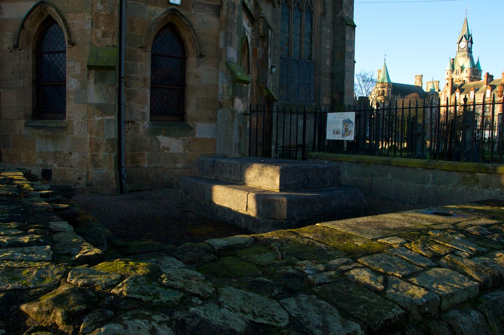 Dunfermline Abbey - St Margaret's Shrine