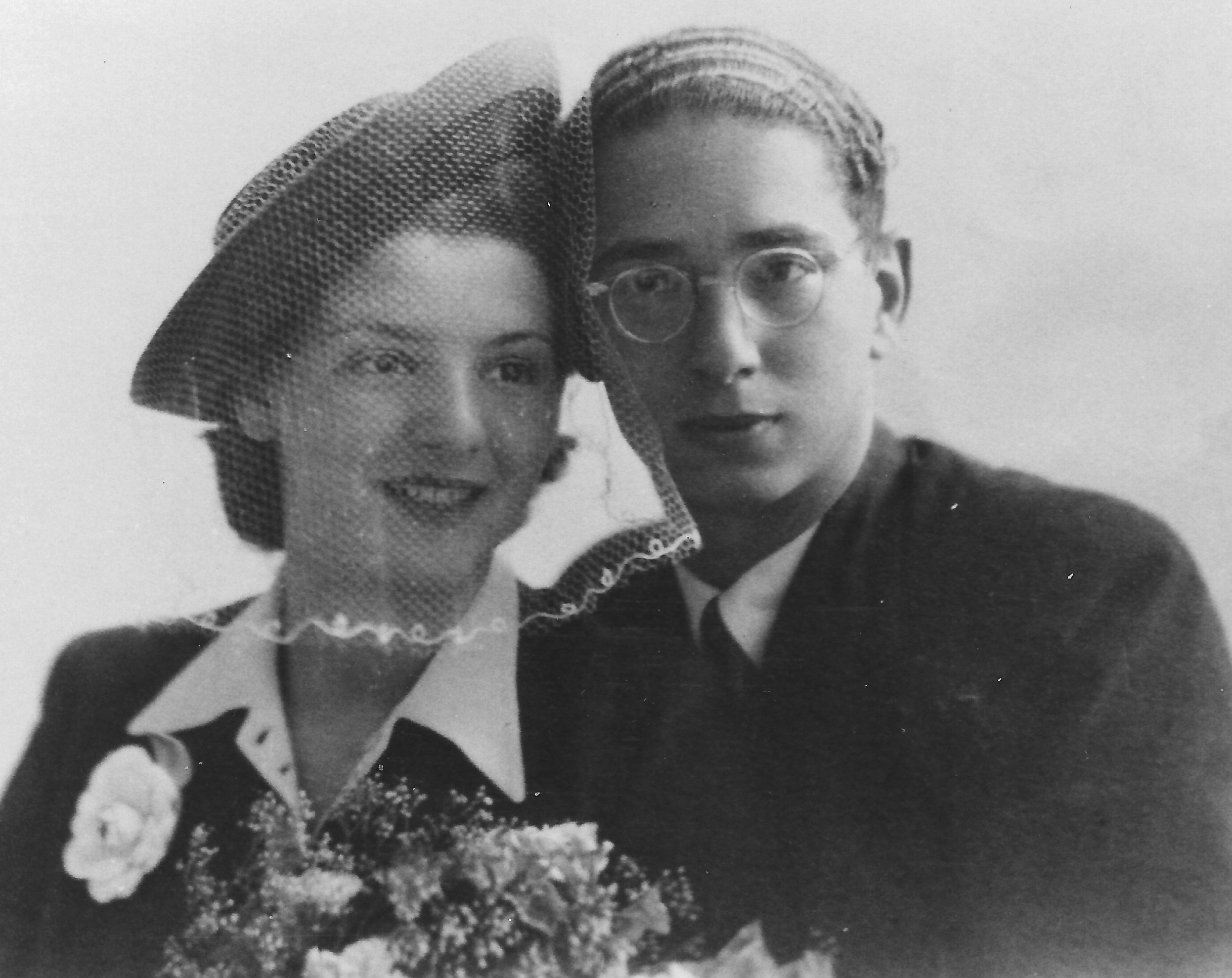 Kurt Reiner with wife