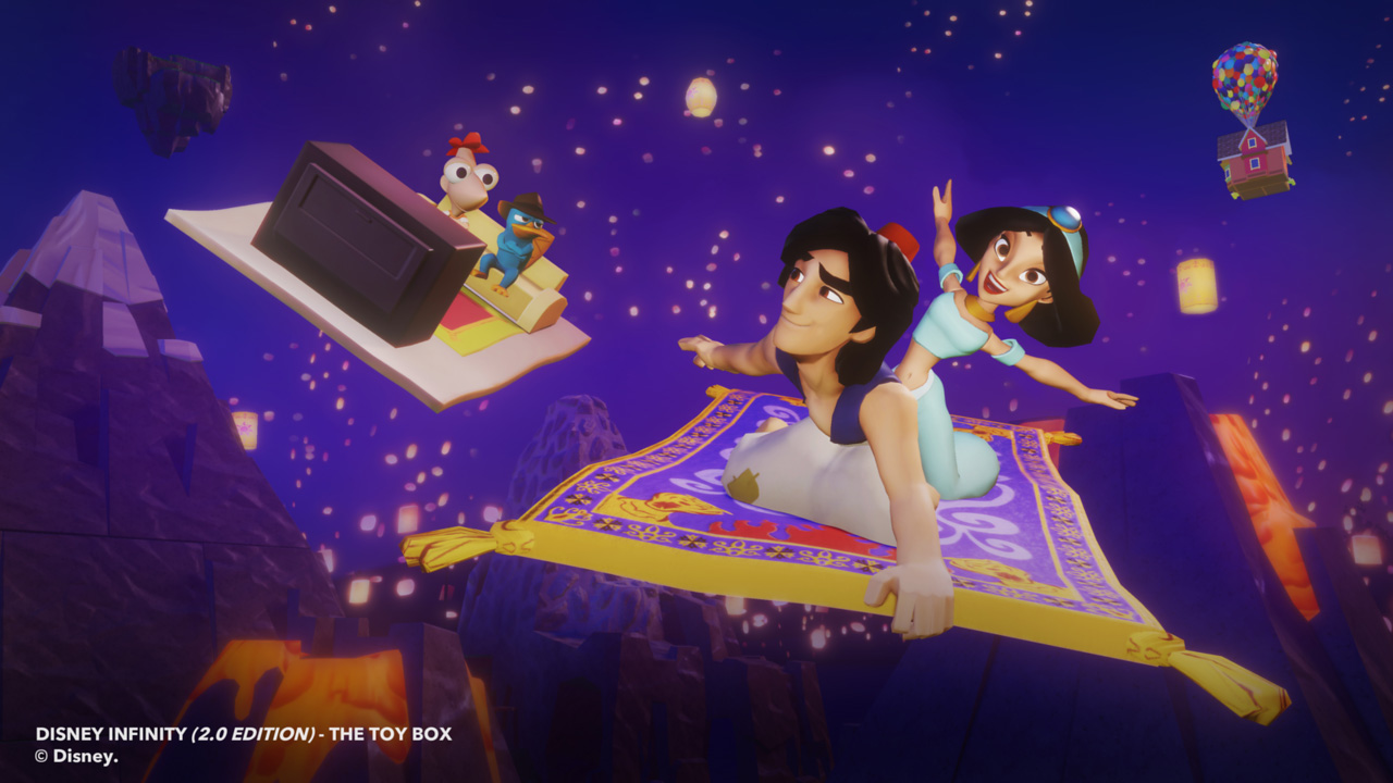 Disney Infinity 20 Aladdin And Jasmine Figures And Power Discs Join Toy Box TheHDRoom