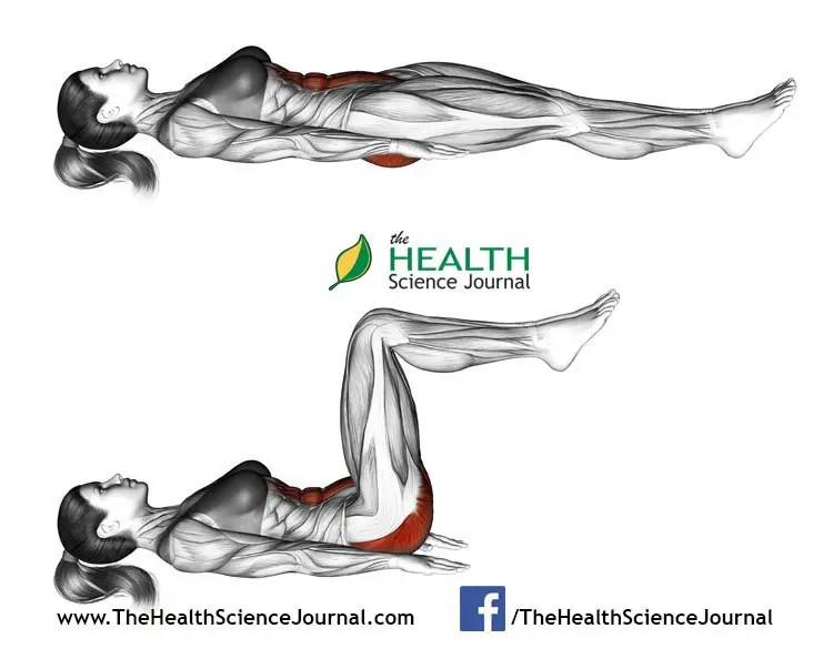 © Sasham   Dreamstime.com - Fitness exercising. Ab draw leg side. Female