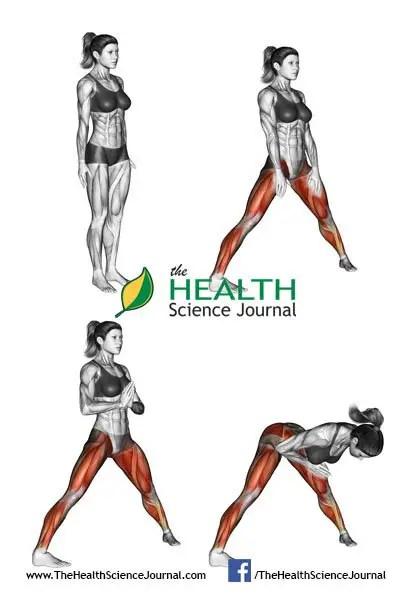 © Sasham   Dreamstime.com - Yoga exercise. Stand Spread Leg Forward Fold. Female