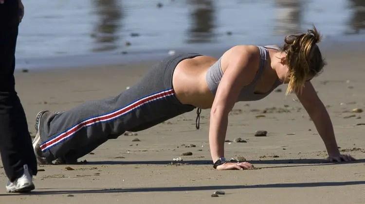 starting push-ups