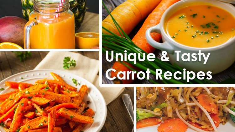 5 Unique & Tasty Carrot Recipes to Support Your Weight Loss
