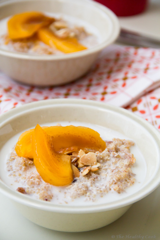 Persimmon Quinoa Breakfast – Πρωινό με Λωτό και Κινόα