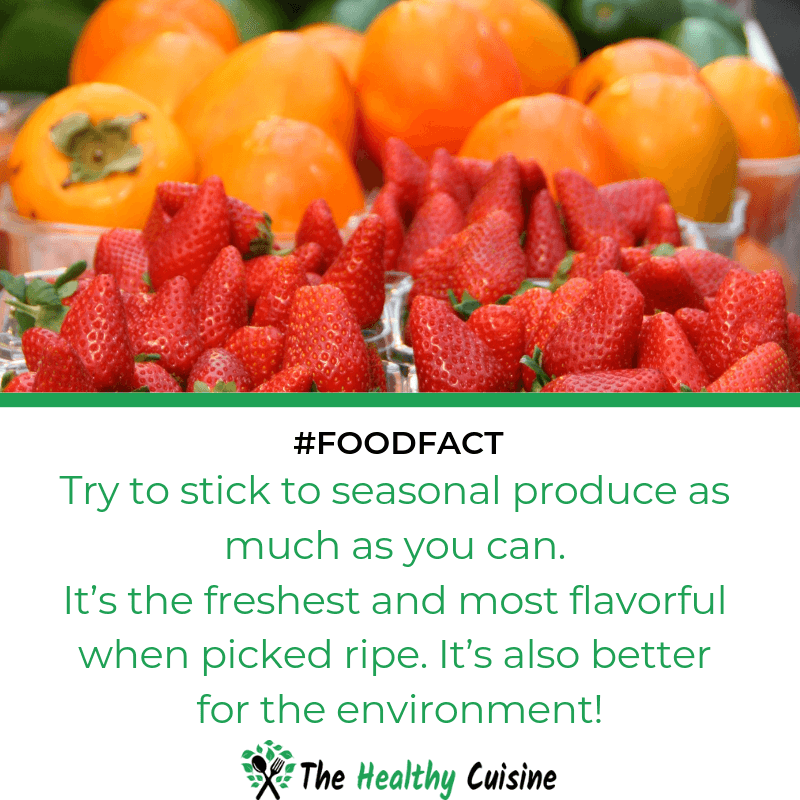 Fresh Produces Are Better For You And The Environment