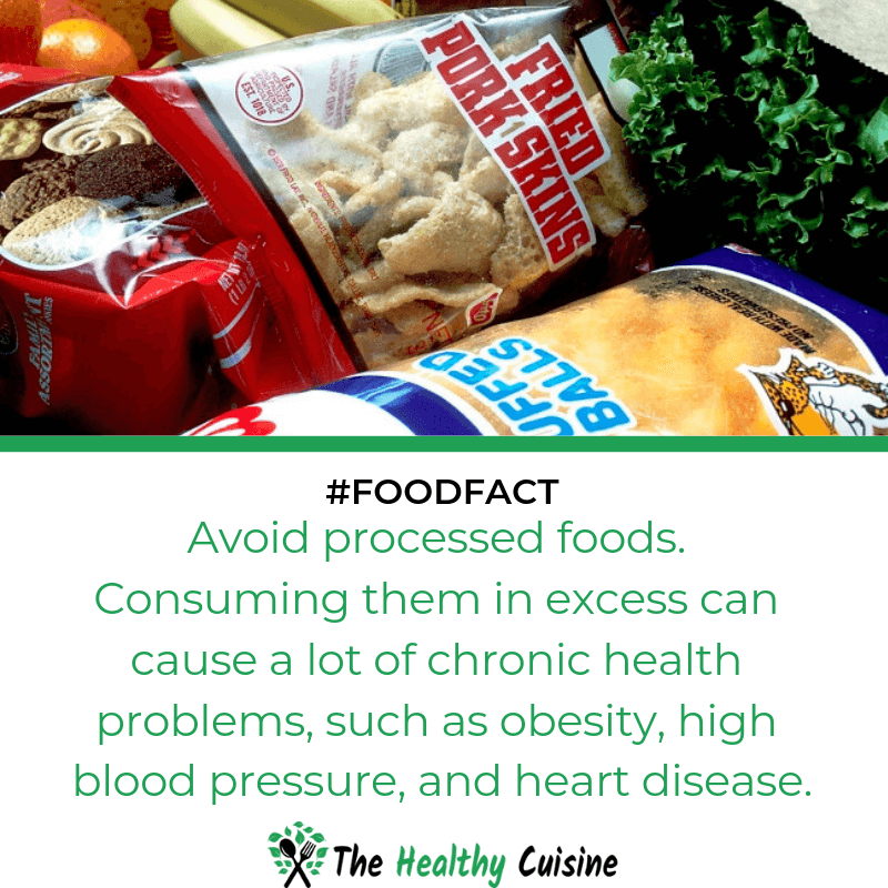 Processed Foods Cause A Lot Of Chronic Health Problems