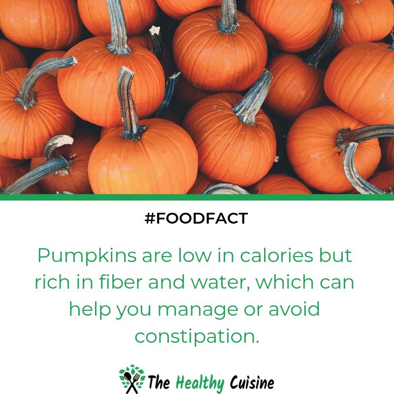 Pumpkins Help You Manage Constipation