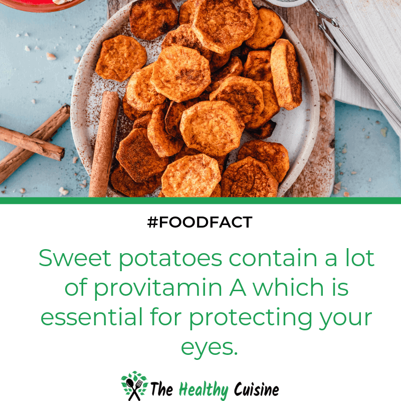 Sweet Potatoes Are Essential For Protecting Your Eyes