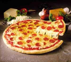 MMmmm... pizza.